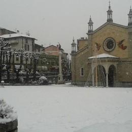 Neve a Fiorano al Serio foto di Anna Maria