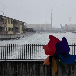Neve a Terno d'Isola foto di maxi..@