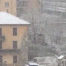 Neve a San Giovanni Bianco foto di Giovanni
