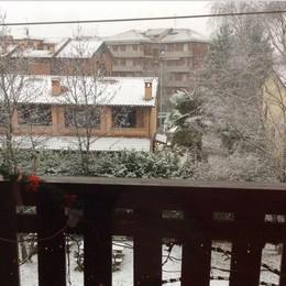 Neve a Redona foto di Roberto