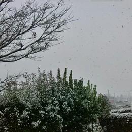 Neve a Mornico al serio foto di Marco