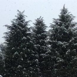 Neve a Montello foto di Matteo