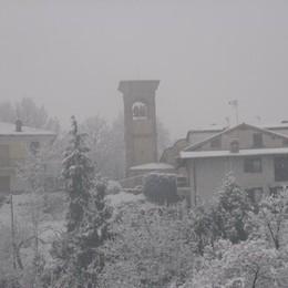 Neve a Sorisole foto di dalla...@