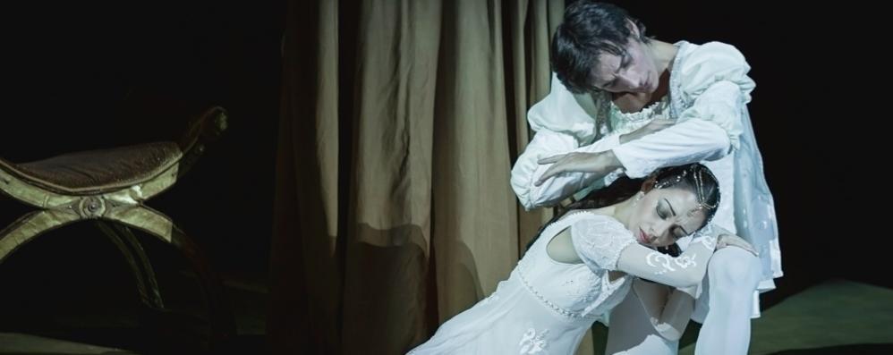 «Romeo e Giulietta» al Donizetti Grande danza con il Balletto di Mosca