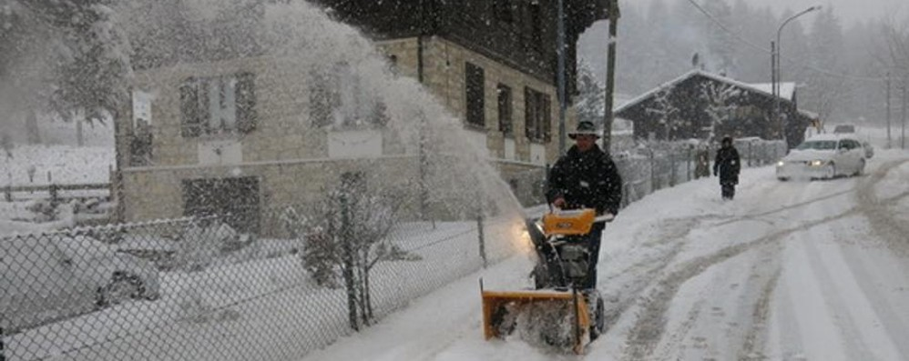 Trenta centimetri di neve in alta valle La stagione sugli sci tenta il decollo