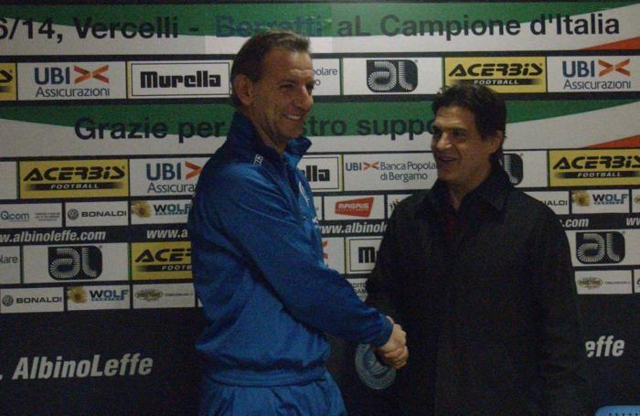 Amedeo Mangone è il nuovo allenatore dell'AlbinoLeffe