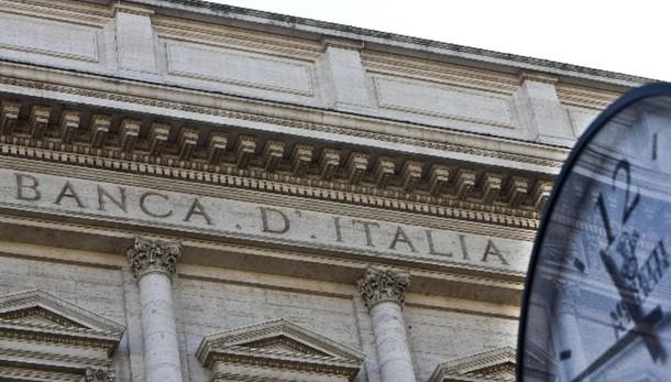 Bankitalia, scende costo conto corrente