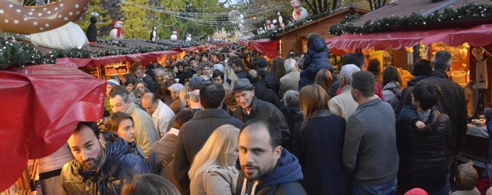 Bergamo, Notte Bianca al Villaggio di Natale