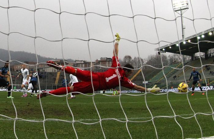 Frattini è battuto dal primo gol di Boakye