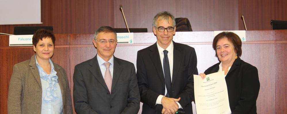 La cartella clinica elettronica:  Bergamo premiata dalla Regione