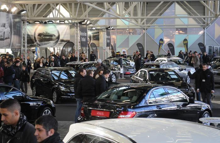 Il Motor show di Bologna in una foto d'archivio