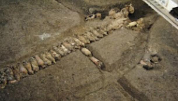 Trovato grande bacino idrico Roma antica