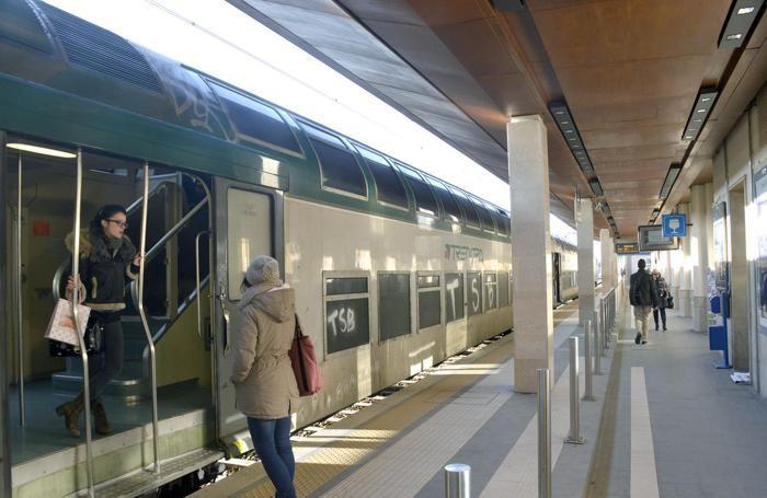 La stazione di Bergamo