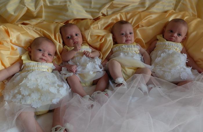 Le quattro gemelline