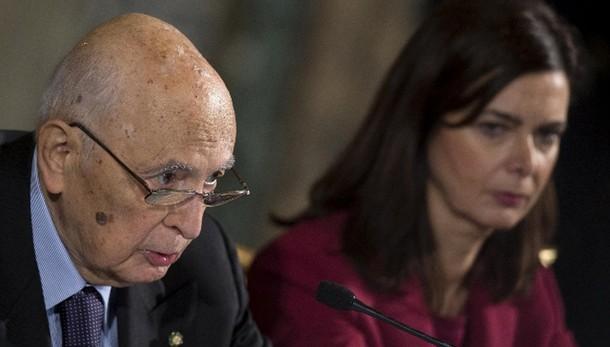 Boldrini,Italia si ritrova in Napolitano