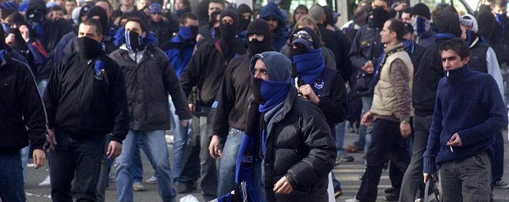 Il Bocia, il processo agli ultras e le minacce al cronista de L'Eco