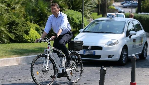 Mafia Roma:Marini,non girerò più in bici