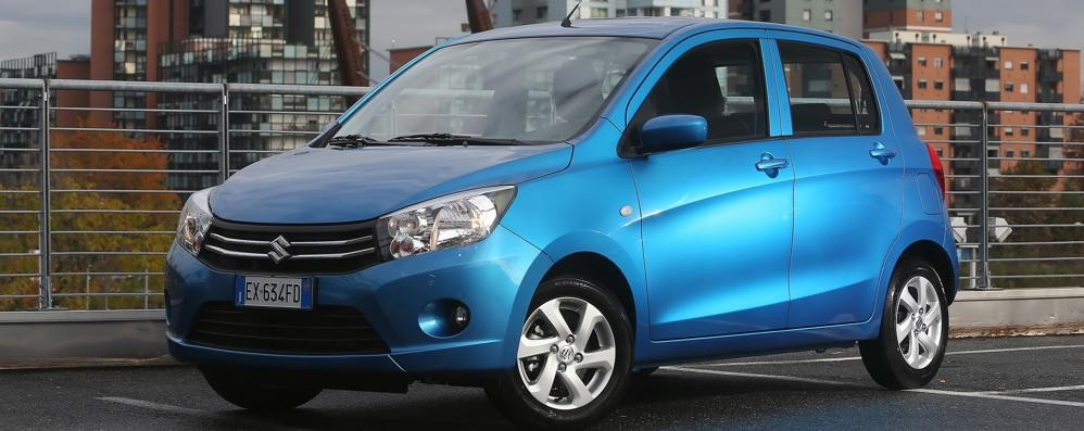 Nuova Suzuki Celerio Sfida alle urban-car