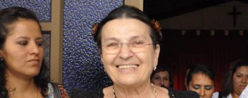 Volontaria in Ecuador da 40 anni A Maria Luisa il premio internazionale