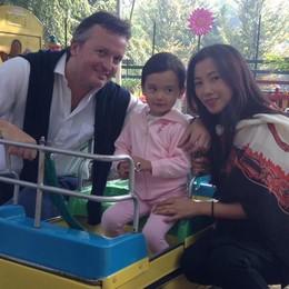 Faccio l'avvocato in Cina ma con mia figlia gioco al parco Suardi