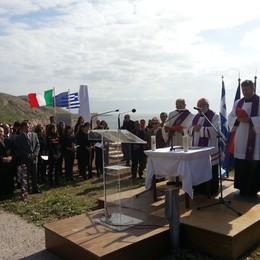 Il disastro del piroscafo Oria  Una stele svelata in Grecia