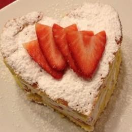 Oggi è la festa di San Valentino  C'è tanta dolcezza anche nel piatto