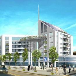 Una piazza, palazzine e negozi  L'area «Li Gobbi» cambia volto