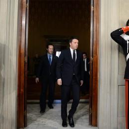 Renzi in Quirinale da Napolitano  «Faremo una riforma al mese»
