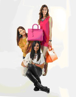 Da sinistra Liala, Laura e Lucia