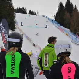 Sci, il gigante del Monte Pora  Vince l'austriaca Eva-Maria Brem