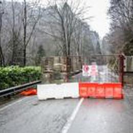 Val Serina, strada ancora interrotta  Patto e Pd: interrogazione in Regione