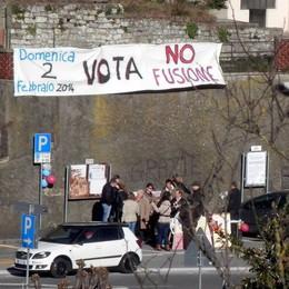 Borgo di Terzo, Vigano e Luzzana   No alla fusione: «Spariti i cartelli»