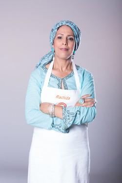 Rachida Karrati alla trasmissione tv Masterchef