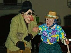 La mascherada en cuntrada, Carnevale a Dossena