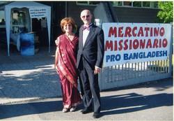 Gisella Aschedamini con il marito Vittorio Pellegrini