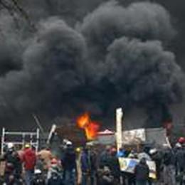 Imprenditore bergamasco in trincea  «Fuggito appena in tempo da Kiev»