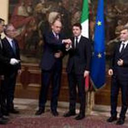 Letta-Renzi: breve e gelido  il passaggio delle consegne