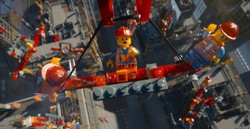 Una scena del film lego Movie