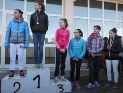 Un podio di giovani atleti bergamaschi