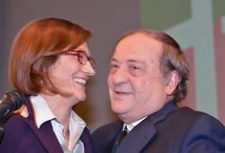 Mariastella Gelmini con il sindaco Tentorio