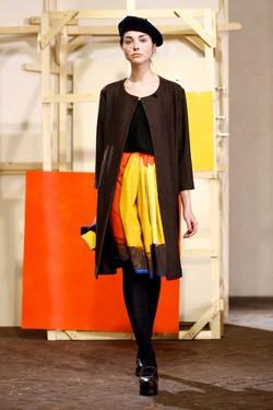 Un modello di Daniela Gregis