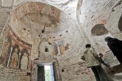 Bariano - Affreschi all'ex convento dei Neveri