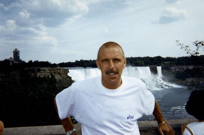 Ezio Bertuzzo in un'immagine di qualche anno fa