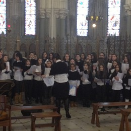 Il «Coro del Sorriso» di Montello  «Che emozione cantare a Lourdes»