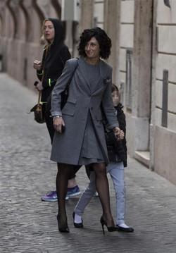 Agnese Landini in Ermanno Scervino