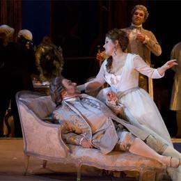 Albini debutta all'opera con Puccini  I suoi tessuti per la Manon Lescaut