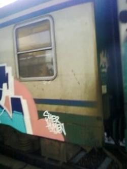 La sporcizia sulle carrozze di Trenord (giovedì 27 febbraio 2014)
