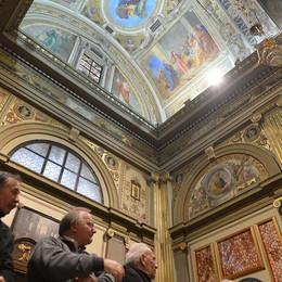 Caravaggio, tripudio di colori  Il santuario ritrova gli affreschi