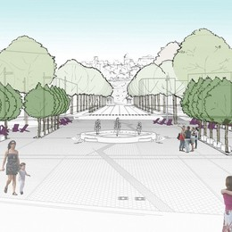 Stazione, ecco la nuova piazza  Parola ai lettori: vota il sondaggio