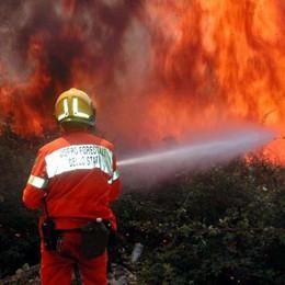 C'è il nuovo piano antincendio:  «Difendere un territorio a rischio»